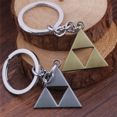 Game The Legend of Zelda Keychain Triangle Logo Key Chain Keyring