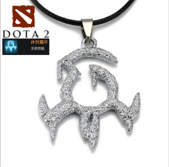 Hot Game DOTA 2 VG Snow Ice Necklace Charm Jewelry