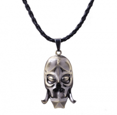 Game The Elder Scrolls V Skyrim Dragon Priest Mask Pendant Necklace