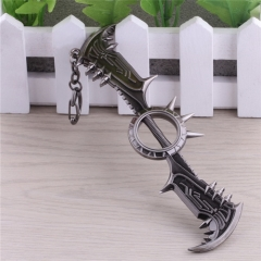15cm Game League Of Legends the Glorious Executioner Draven Weapon Keyring LOL Sword Model Pendant Keychain