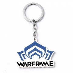 Game Warframe Silicone Keychain Keyring Jewelry Gift for Friend