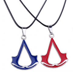 Game Assassins Creed 3 III Black Flag Pendant Necklace