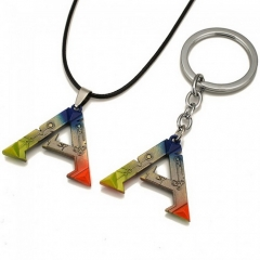 Game ARK Survival Evolved Logo A Keyring Keychain Necklace Pendant Jewelry