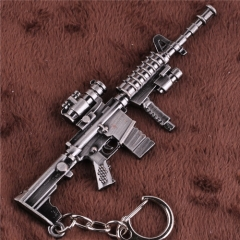 12cm Game Cross Fire Gun Weapon Keyring CF CSGO Model Keychain-DM1198