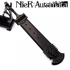 Game NieR:Automata 2B Weapon Keychain YoRHa No. 2 Type B cosplay sword model keyring
