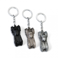 Movie Dark Knight Batman Car Keychain Batmobile Superman Keyring