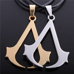 Game Assassins Creed Vintage Ezio Deiss Mond Logo Choker Necklace