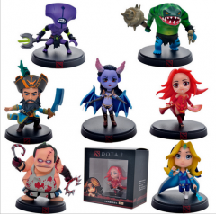 1 set Game DOTA 2 PVC Figures 7pcs/Set