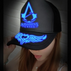 Game Assassins Creed Noctilucent Hat Printing Baseball Caps Gift for fans Souvenirs