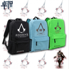 5 Types Game Assassin's Creed Backpacks Oxford Printing School Bags For Teenagers