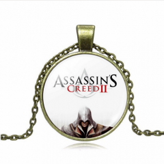 12 types Game Assassins Creed Choker Necklaces & Pendants Ezio Vintage Jewelry