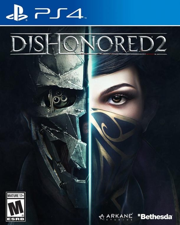 New Arrival Game Dishonored 2 PS4 Scarves Dust Mask Headwear