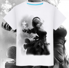 Game NieR:Automata Cosplay Costumes T-shirt drop shipping