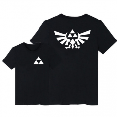 6 colors Game The Legend of Zelda Triforce Logo Summer Style T-shirt