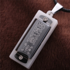Anime One Piece Mini Harmonica Choker Necklace