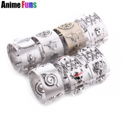 Anime One Piece Skull Naruto Attack On Titan Black Butler Ciel Game Final Fantasy 3D Bangle