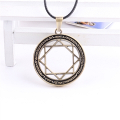 Anime Magi Choker Necklace The Labyrinth Of Magic Flute MAGI Eight Star Array Circle Symble Charm Cosplay Jewelry