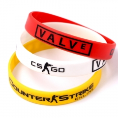 Game CS GO Silicone Rubber Counter Strike Diabetes Bracelet