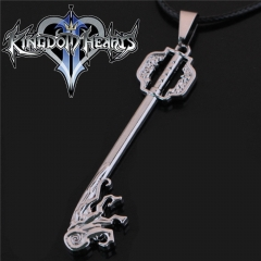 Game Kingdom Hearts Series Crown Key Sora Logo Choker Necklace DM716