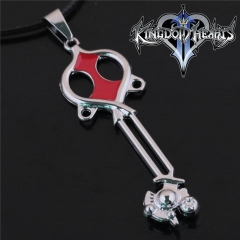 Game Kingdom Hearts Series Crown Key Sora Logo Choker Necklace DM713