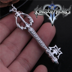 Game Kingdom Hearts Series Crown Key Sora Logo Choker Necklace DM720