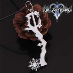 Game Kingdom Hearts Series Crown Key Sora Logo Choker Necklace DM714