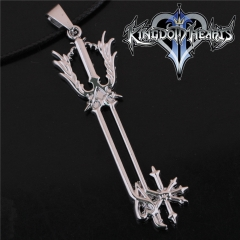 Game Kingdom Hearts Series Crown Key Sora Logo Choker Necklace DM715