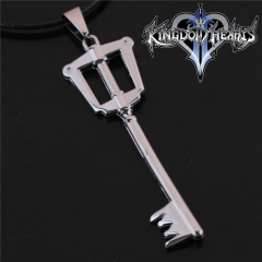 Game Kingdom Hearts Series Crown Key Sora Logo Choker Necklace DM717