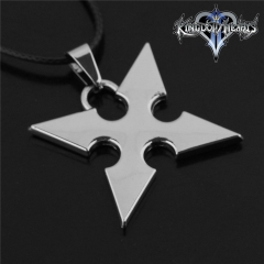 Game Kingdom Hearts Series Crown Key Sora Logo Choker Necklace DM712