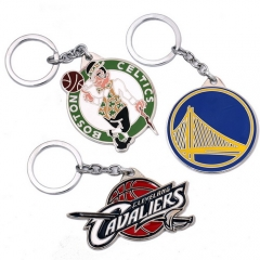 3 types NBA Boston Celtics Golden State Warriors Cleveland Cavaliers Basketball Team Logo Keyring Key Chain