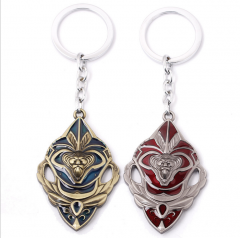 Games World of Warcraft Lion Shield Keychain