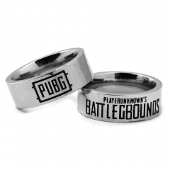 Game Playerunknown's Battlegrounds Ring PUBG-WINNER Logo Stainless Steel Ring