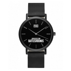 Game Playerunknown's Battlegrounds Watches PUBG Logo High Quality Lovers Watch