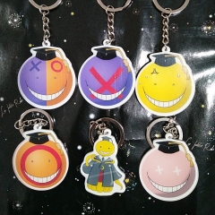 Hot Anime Assassination Classroom Noragami Aragoto Totoro Acrylic Keyring