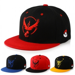 21 types Game Pokemon Go Anime Diamond & Pearl Satoshi Ash Katchum Baseball Cap Snapback Hat