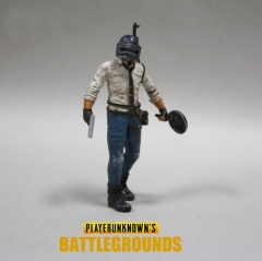 Game Playerunknown's Battlegrounds Action Figure PUBG Model WINER-WINNER CHICKEN DINNER Toy Gifts 17 cm