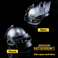 Game Playerunknown's Battlegrounds Keyring 3D Special-Forces Level 3 Helmet PUBG Keychain