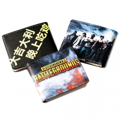 Game Playerunknown's Battlegrounds Wallet PUBG Logo Purse