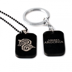 Game The Elder Scrolls VI: Argonia Choker Necklace Logo Keyring