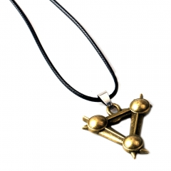 Game Warhammer: The End Times Vermintide Choker Necklace Vermintide II Triangle Logo Pendant