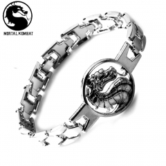 Game Mortal Kombat Dragon Logo Bracelet