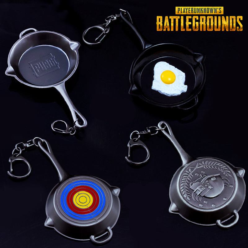 Novelty & Special Use Playerunknowns Battlegrounds Pubg Logo Sickle Model Cosplay Accessories Pendant Keychain Gift Collection Winner Chicken Dinner Costume Props