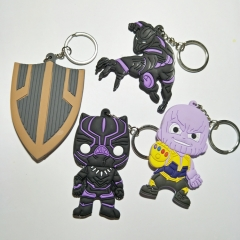 Super Hero Avengers Infinity War Black Panther Keyring Limited Charm Character Keychain