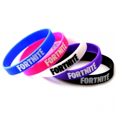 Game Fortnite Bracelet For Women Men fan Logo Silicone Wristband