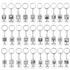 40 Types FPS Game Rainbow Six Siege Keyring Keychain Pendant jewelry Fans Gift Charm Accessories