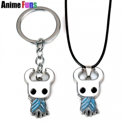 Game Hollow Knight Choker Necklace Keyring Keychain Fans Gift Charm Souvenir
