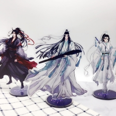 40 types Anime Mo Dao Zu Shi Acrylic Figure Wei WuXian Lan WangJi Collection Gift The Grandmaster of Demonic Stand Model