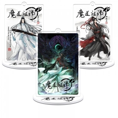 12 types Anime Mo Dao Zu Shi Keyring Acrylic Figure Model Wei WuXian Lan WangJi Collection Gift The Grandmaster of Demonic Gift