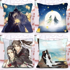 60 types Mo Dao Zu Shi Pillow Filled PP Custom Wei WuXian Lan WangJi The Grandmaster of Demonic Collection For fan Pillow Case