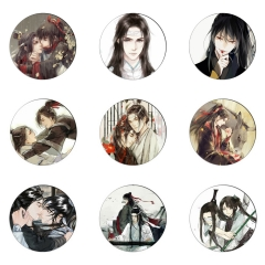 120 type Anime Mo Dao Zu Shi Badge Pins Wei WuXian Lan WangJi The Grandmaster of Demonic Collection bags Cosplay Brooch Fan Gift